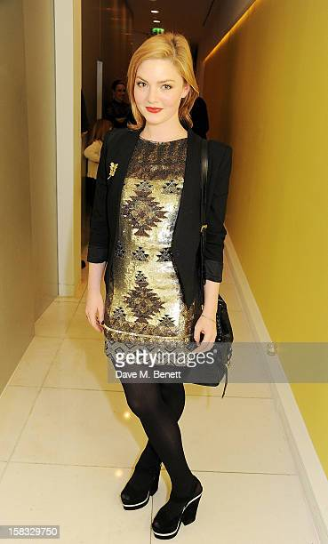 Holliday Grainger attends the English National Ballet Christmas Party at St Martins Lane Hotel on December 13 2012 in London England
