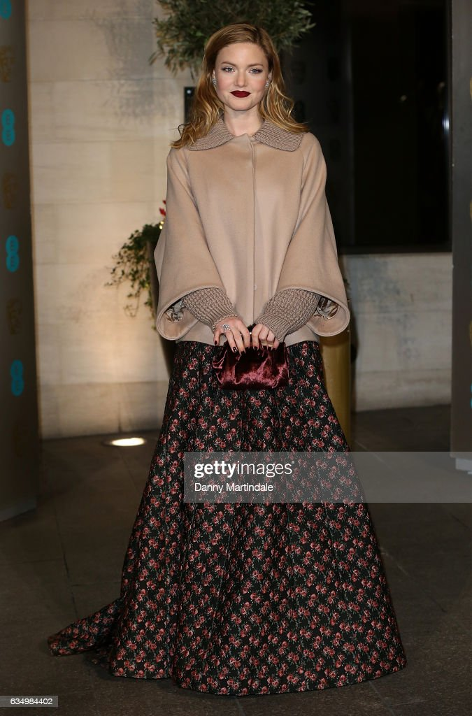 Holliday Grainger attends the official after party for the 70th EE British Academy Film Awards (BAFTA) at The Grosvenor House Hotel on February 12, 2017 in London, England.