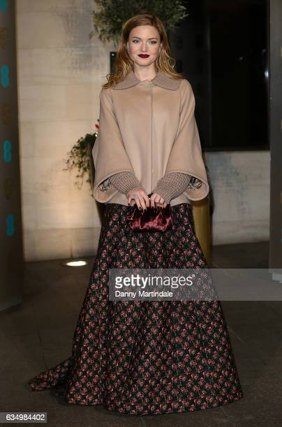 Holliday Grainger attends the official after party for the 70th EE British Academy Film Awards at The Grosvenor House Hotel on February 12, 2017 in...