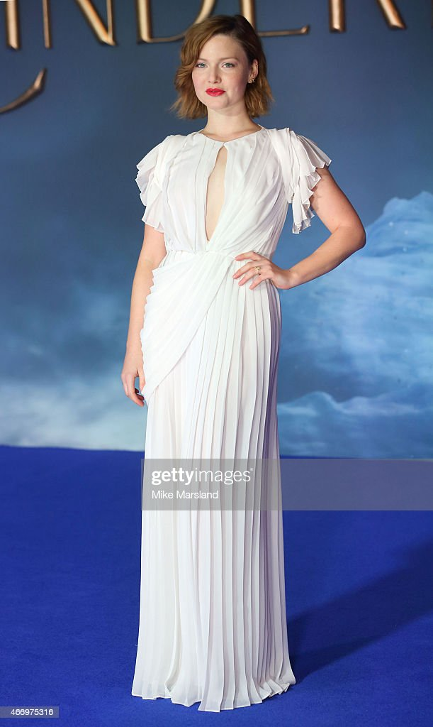 Holliday Grainger attends the UK Premiere of 'Cinderella' at Odeon Leicester Square on March 19, 2015 in London, England.