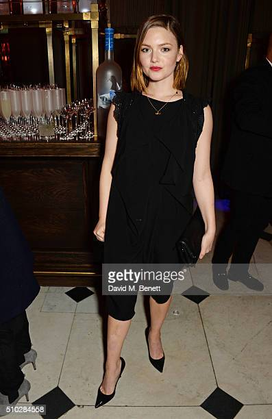 Holliday Grainger attends The Weinstein Company Entertainment Film Distributors Studiocanal 2016 BAFTA After Party in partnership with BVLGARI GREY...