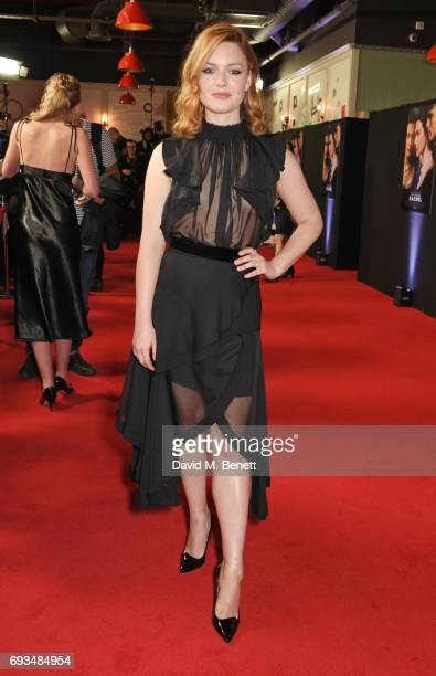 Holliday Grainger attends the World Premiere of My Cousin Rachel at the Picturehouse Central on June 7 2017 in London England