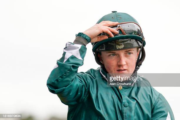 Hollie Doyle at Ascot Racecourse on May 08, 2021 in Ascot, England. Only owners are allowed to attend the meeting but the public must wait until...