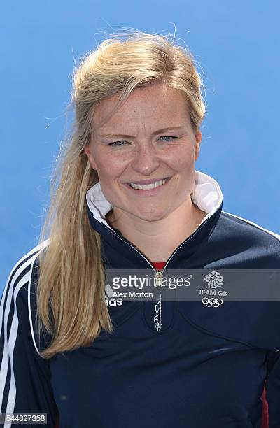 Hollie Webb of Team GB during the Announcement of Hockey Athletes Named in Team GB for the Rio 2016 Olympic Games at the Bisham Abbey National Sports...