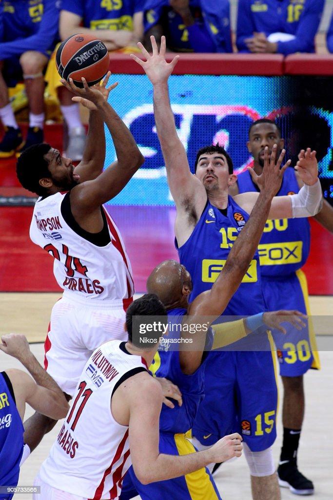 Olympiacos Piraeus v Maccabi Fox Tel Aviv - Turkish Airlines EuroLeague