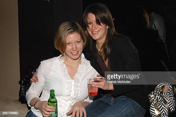 Holly Bolton and Lauren Nowell attend 3H's 23rd Birthday Party at Lobby on March 10 2005 in New York City