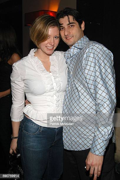 Holly Bolton and Mike Fakellis attend 3H's 23rd Birthday Party at Lobby on March 10 2005 in New York City
