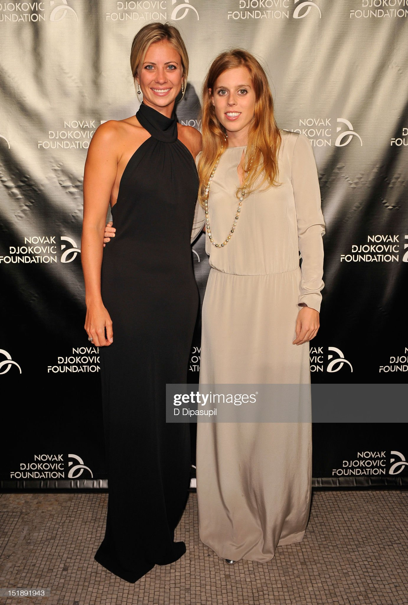 The Novak Djokovic Foundation Inaugural Dinner - Red Carpet : News Photo