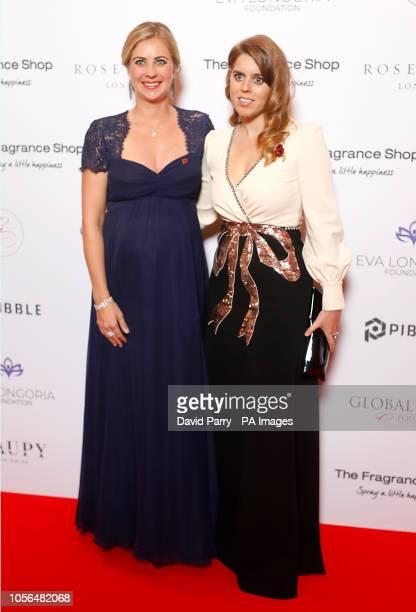 Holly Branson and Princess Beatrice of York attending the 9th Annual Global Gift Gala held at the Rosewood Hotel London