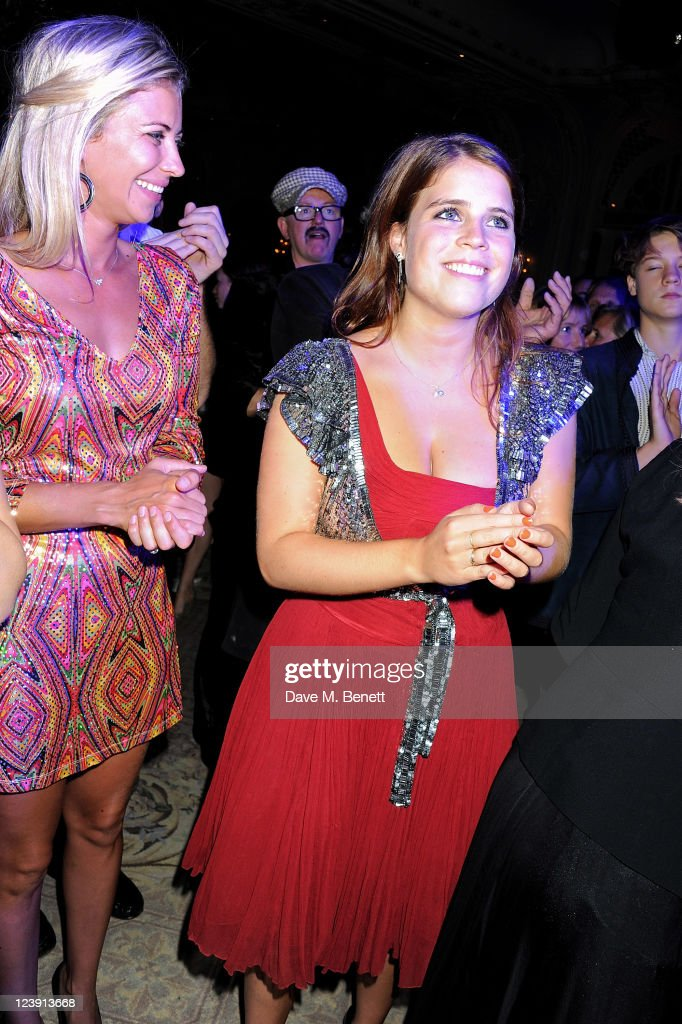 Holly Branson (L) and Princess Eugenie of York attend 'Freddie For A Day', celebrating Freddie Mercury's 65th birthday, in aid of The Mercury Pheonix Trust at The Savoy Hotel on September 5, 2011 in London, England.