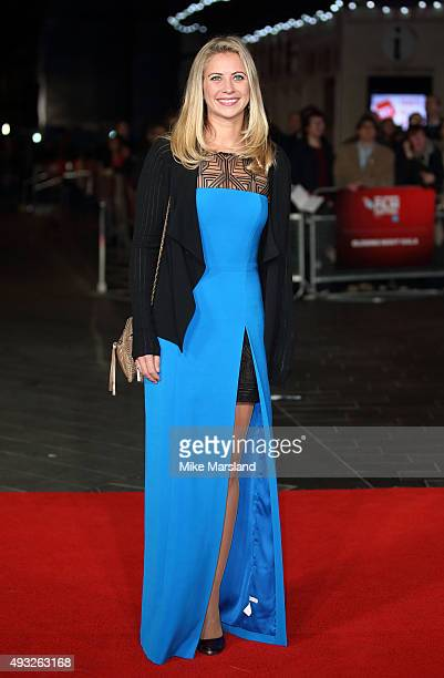 Holly Branson attends a screening of 'Steve Jobs' on the closing night of the BFI London Film Festival at Odeon Leicester Square on October 18 2015...