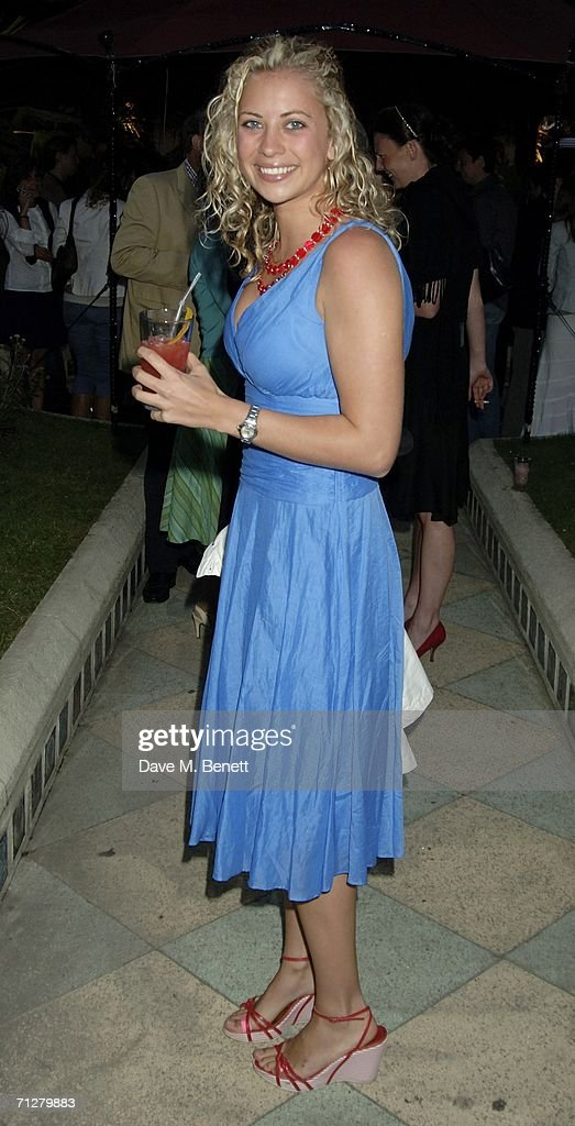 Holly Branson attends the Sony Ericsson WTA Tour's pre-Wimbledon party hosted by Sir Richard Branson of Virgin, at The Roof Gardens on June 22, 2006 London, England.