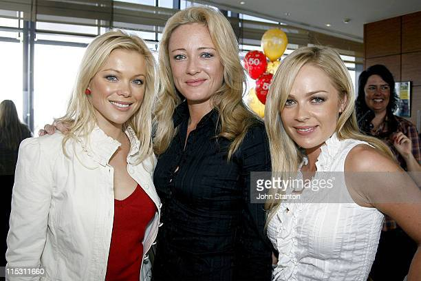 Holly Brisley Amber Petty and Imogen Bailey during TV Turns 50 Photo Call in Sydney at Star City in Sydney NSW Australia