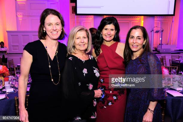 Holly Brown Elaine Irwin Tiffany Moller and Linette Deluca attends The Boys' Club of New York Ninth Annual Winter Luncheon on February 26 2018 in New...