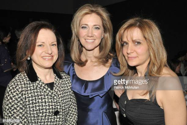 Holly Brubach Silda Wall Spitzer and Leora Rosenberg attend THE ART OF GIVING An Evening to Benefit CHILDREN FOR CHILDREN at Christie's on April 13...