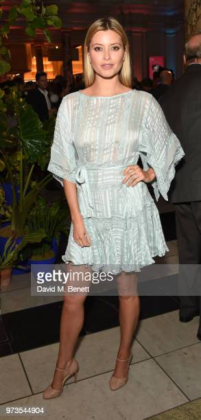 Holly Candy attends a private view of 'Frida Kahlo Making Her Self Up' at The VA on June 13 2018 in London England