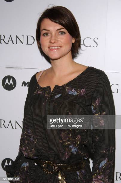 Holly Davidson at the Grand Mac Classics screening of Woody Allen's 'Manhatten' presented by Deacon at the Electric Cinema in Portabello Road