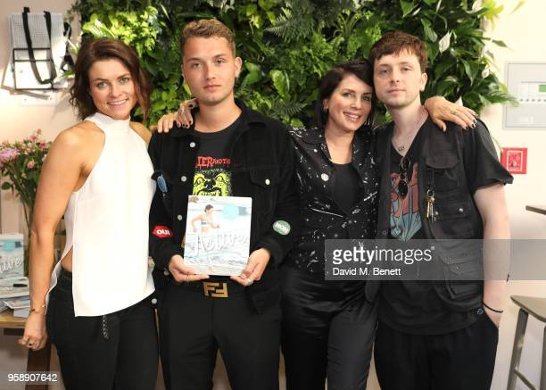 Holly Davidson Raff Law Sadie Frost and Rudy Law attend the launch of Holly Davidson's new book 'Active Workouts That Work For You' with Kyle Books...