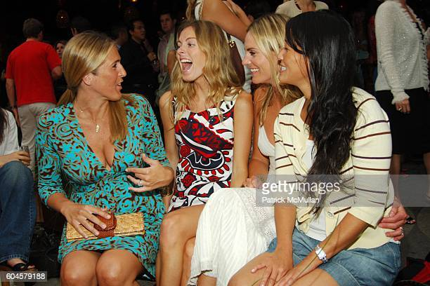 Holly Doran Ferebee Bishop Annie Taube and Deb Lee attend MILLY by Michelle Smith Cabana and Resort Party at Cabana on June 14 2006 in New York City