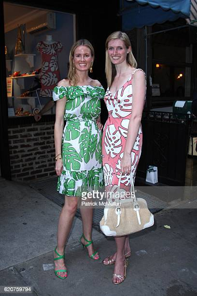 Holly Dunlap and Alexandra Reeve attend HOLLYWOULD and The CHRISTOPHER and DANA REEVE FOUNDATION SUMMER PARTY at Hollywould on July 8 2008 in New...