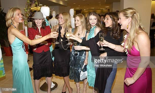 Holly Dunlap Emily Mortimer Chloe Sevigny Mena Suvari Michelle Trachtenberg JamieLynn DiScala and Jessica Capshaw