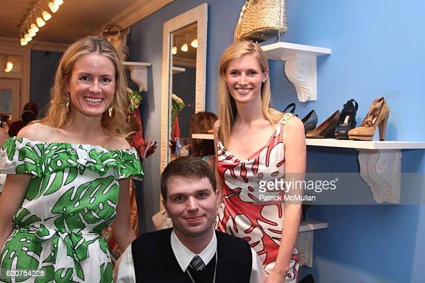 Holly Dunlap Francesco Clark and Alexandra Reeve attend HOLLYWOULD and The CHRISTOPHER and DANA REEVE FOUNDATION SUMMER PARTY at Hollywould on July 8...