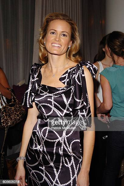 Holly Dunlop attends HOLLYWOULD Fall 2006 Presentation at Christie's Auction House on February 8 2006 in New York