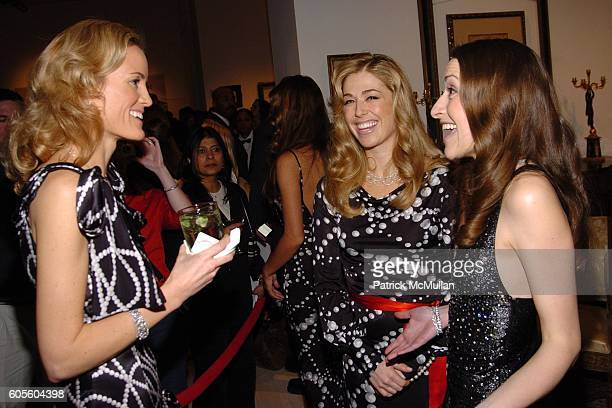 Holly Dunlop Melanie Charlton and Lara Meiland attend HOLLYWOULD Fall 2006 Presentation at Christie's Auction House on February 8 2006 in New York