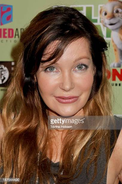 Holly Fields attends the Delhi Safari Los Angeles premiere at Pacific Theatre at The Grove on December 3 2012 in Los Angeles California