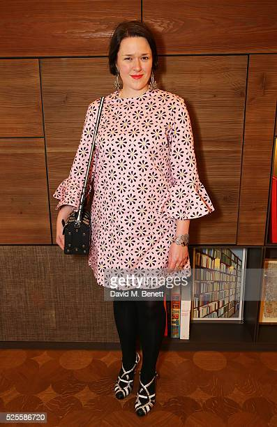 Holly Fulton attends the BFC Fashion Trust x Farfetch cocktail reception on April 28, 2016 in London, England.