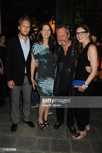 MANDATORY CREDIT PHOTO BY DAVE M BENETT/GETTY IMAGES REQUIRED Holly Gilliam Terry Gilliam and Amy Gilliam attend the Istancool Gala Dinner at the...