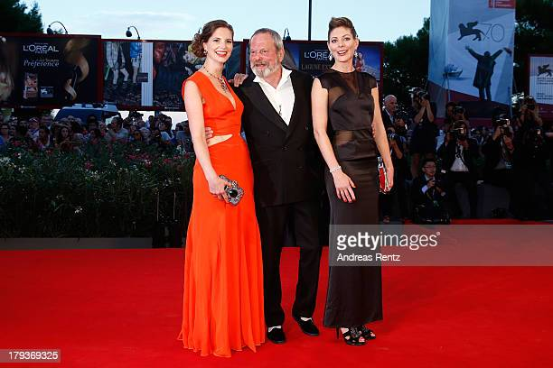 Holly Gilliam Terry Gilliam and Amy Gilliam attend 'The Zero Theorem' Premiere during the 70th Venice International Film Festival at the Palazzo del...