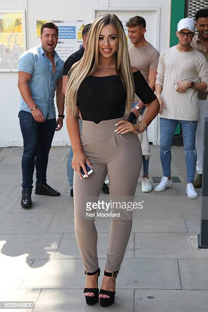 Holly Hagan at MTV HQ in Camden to celebrate the Geordie Shore 5th Birthday Party on May 24 2016 in London England