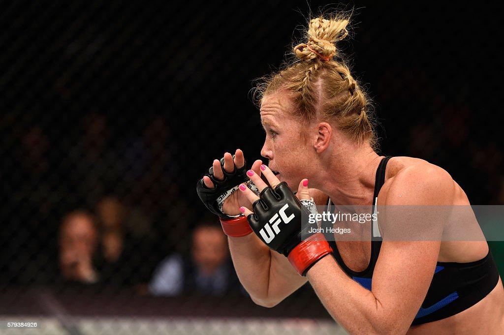 UFC Fight Night: Holm v Shevchenko : News Photo