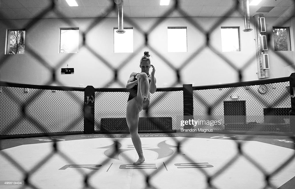 Holly Holm Training Session : News Photo