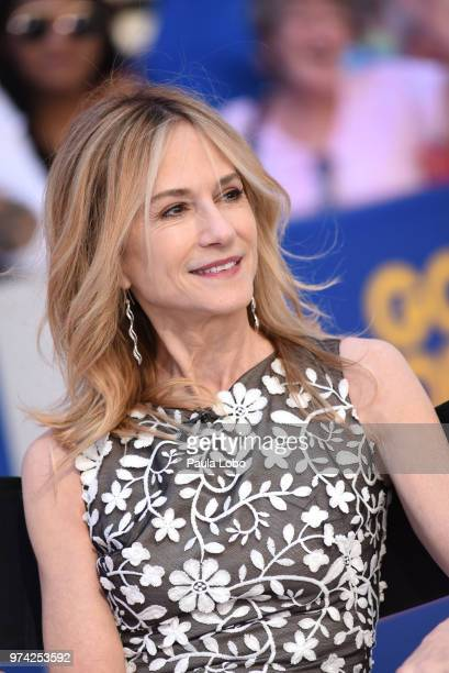 AMERICA Holly Hunter and Craig T Nelson are guests on Good Morning America Thursday June 14 2018 airing on the Walt Disney Television via Getty...