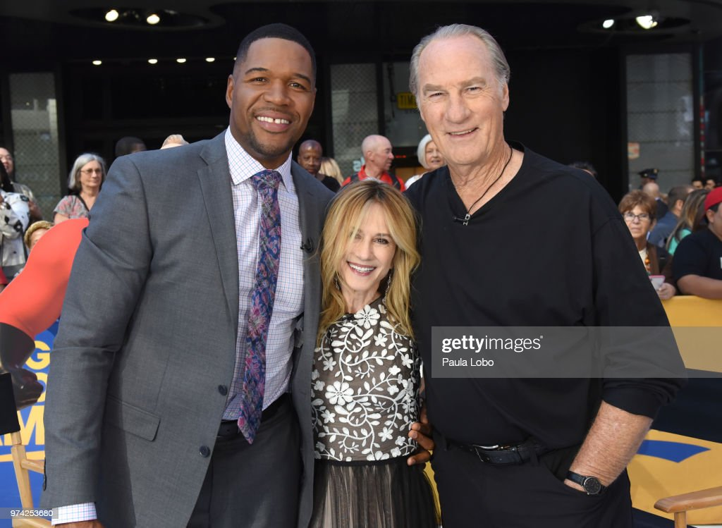 AMERICA - Holly Hunter and Craig T. Nelson are guests on 'Good Morning America,' Thursday, June 14, 2018 airing on the ABC Television Network. MICHAEL