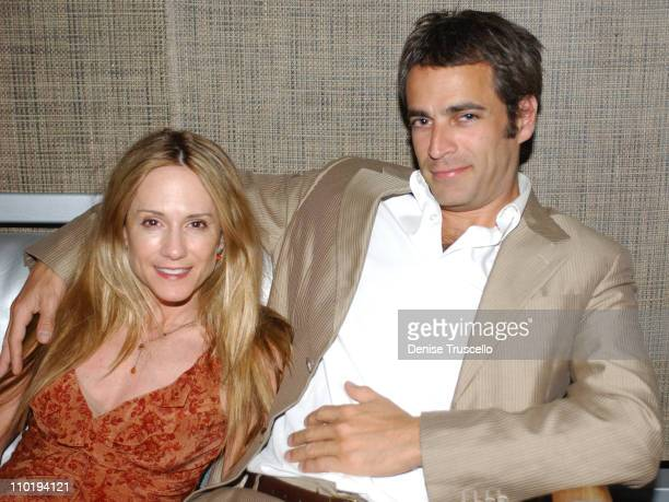 Holly Hunter and Gordon Macdonald during CineVegas 2004 Movieline's Hollywood Life and The Palms Casino Resort Host the Closing Gala of CineVegas...