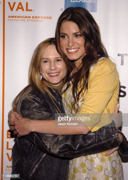 Holly Hunter and Nikki Reed during 5th Annual Tribeca Film Festival 'Mini's First Time' Premiere at Schimmel Center in New York City New York United...