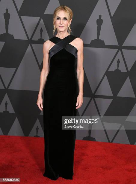 Holly Hunter arrives at the Academy Of Motion Picture Arts And Sciences' 9th Annual Governors Awards at The Ray Dolby Ballroom at Hollywood Highland...