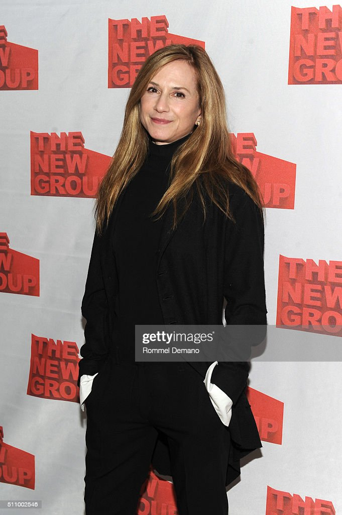 Holly Hunter attends 'Buried Child' opening night at KTCHN Restaurant on February 17, 2016 in New York City.