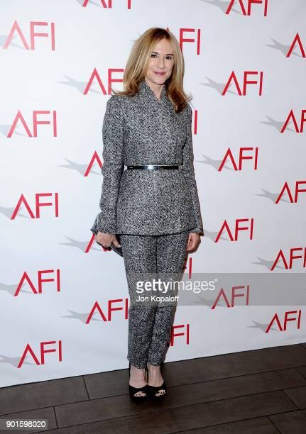 Holly Hunter attends the 18th Annual AFI Awards at Four Seasons Hotel Los Angeles at Beverly Hills on January 5 2018 in Los Angeles California