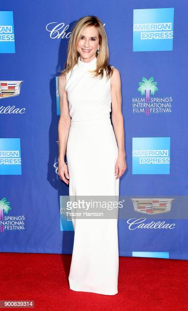 Holly Hunter attends the 29th Annual Palm Springs International Film Festival Awards Gala at Palm Springs Convention Center on January 2 2018 in Palm...