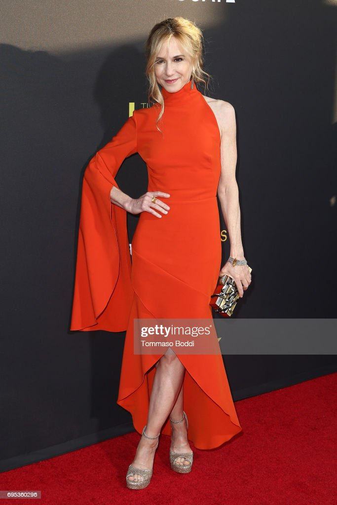 Holly Hunter attends the Premiere Of Amazon Studios And Lionsgate's 'The Big Sick' at ArcLight Hollywood on June 12, 2017 in Hollywood, California.