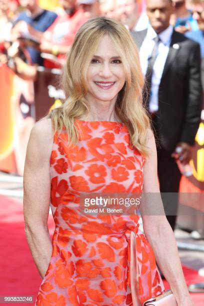Holly Hunter attends the UK Premiere of Incredibles 2 at THE BFI Southbank on July 8 2018 in London England