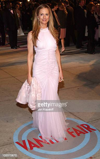 Holly Hunter during 2004 Vanity Fair Oscar Party at Mortons in Beverly Hills California United States