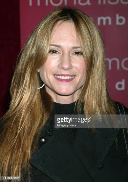 Holly Hunter during 'Mona Lisa Smile' New York Premiere Inside Arrivals at The Ziegfeld Theater in New York City New York United States