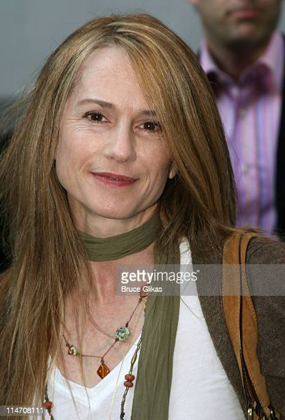 Holly Hunter during Opening Night for Brian Friel's 'Faith Healer' on Broadway May 4 2006 at The Booth Theater in New York City New York United States