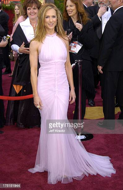 Holly Hunter during The 76th Annual Academy Awards Arrivals by Jeff Kravitz at Kodak Theatre in Hollywood California United States