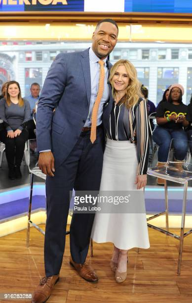 AMERICA Holly Hunter is a guest on 'Good Morning America' Friday February 9 airing on the ABC Television Network MICHAEL
